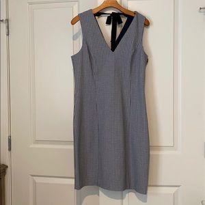 Size 14 Plaid Banana Republic dress! **NEVER WORN*